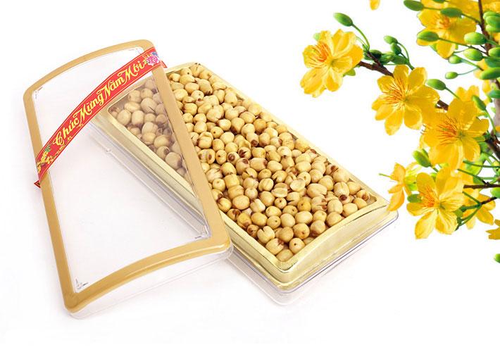 Hạt sen sấy ăn liền