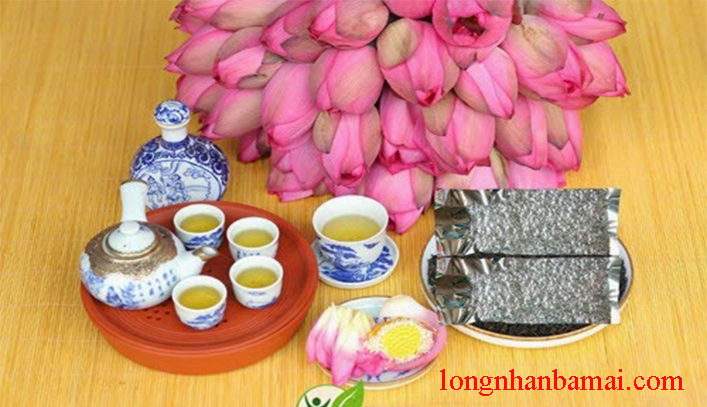Giá trà tâm sen khô nguyên chất thương hiệu bà Mai-1
