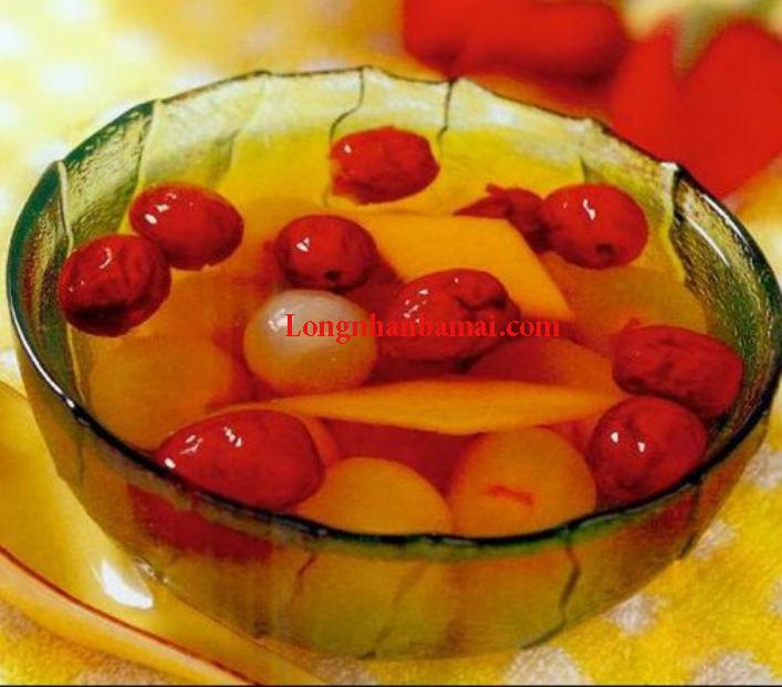 Mẹo nấu chè long nhãn táo tàu bổ dưỡng