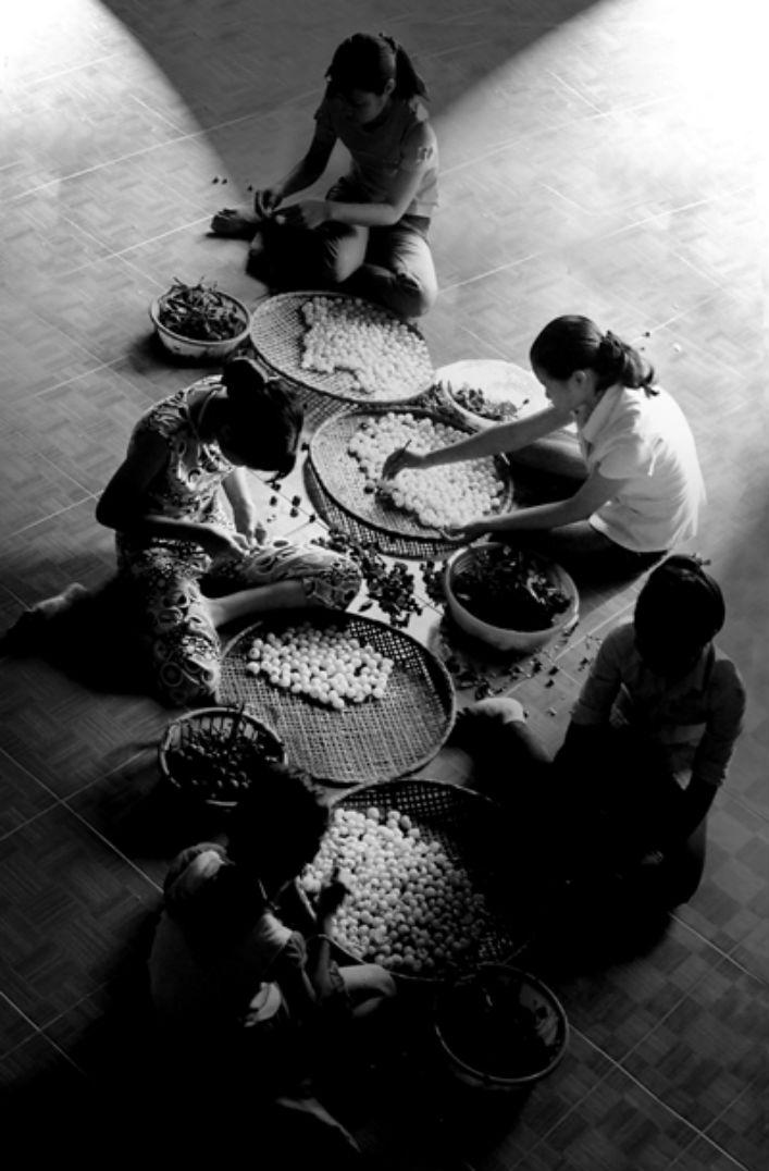 làng nghề làm long nhãn Hưng Yên