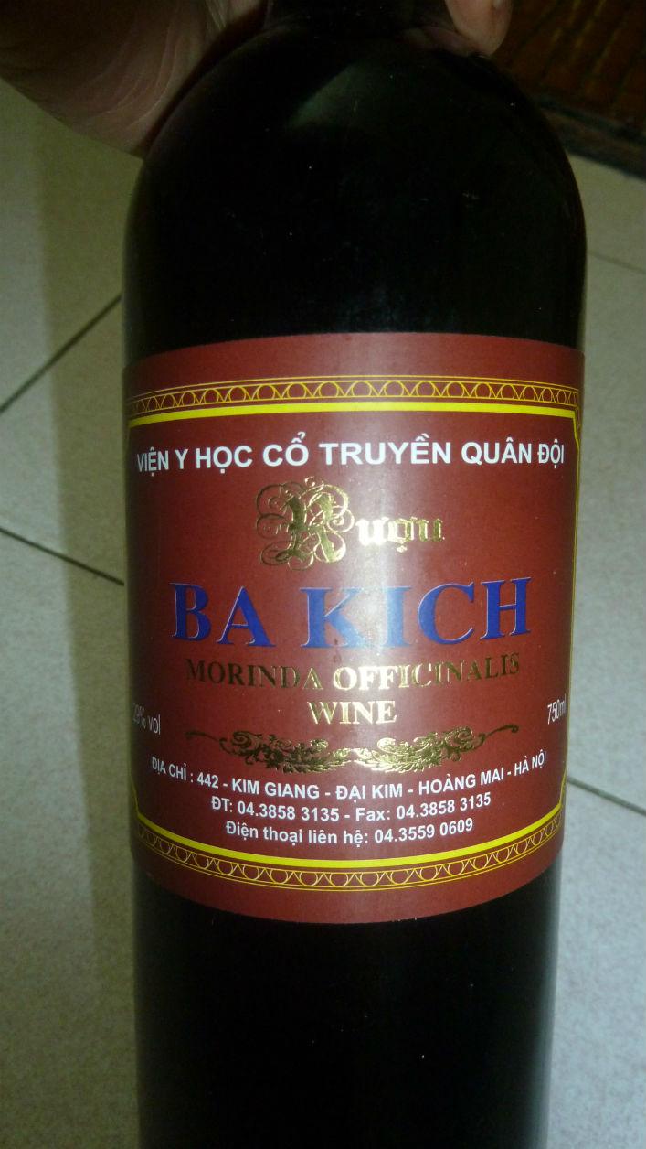 Bán rượu ba kích ngon tại Hà Nội