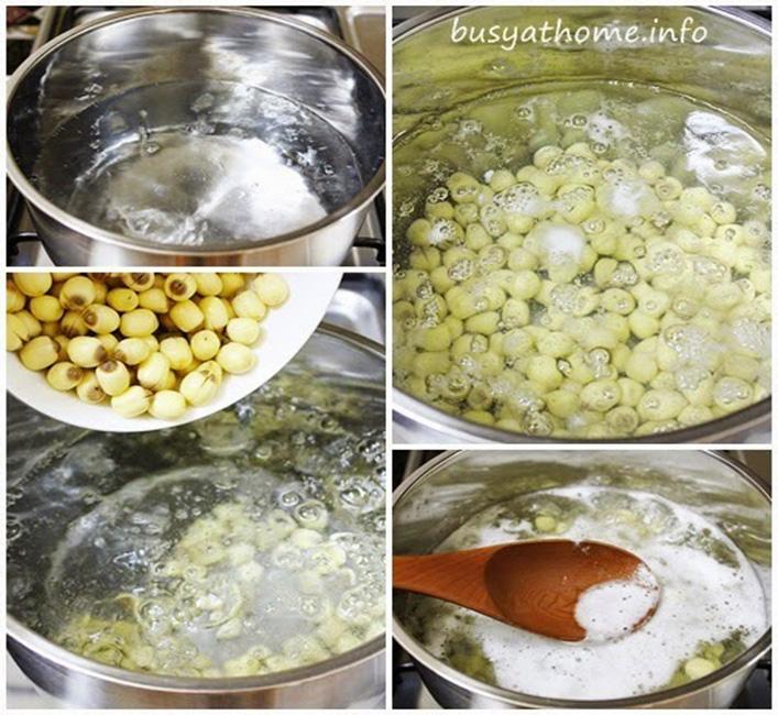 Cách nấu chè nhãn nhục táo đỏ-3