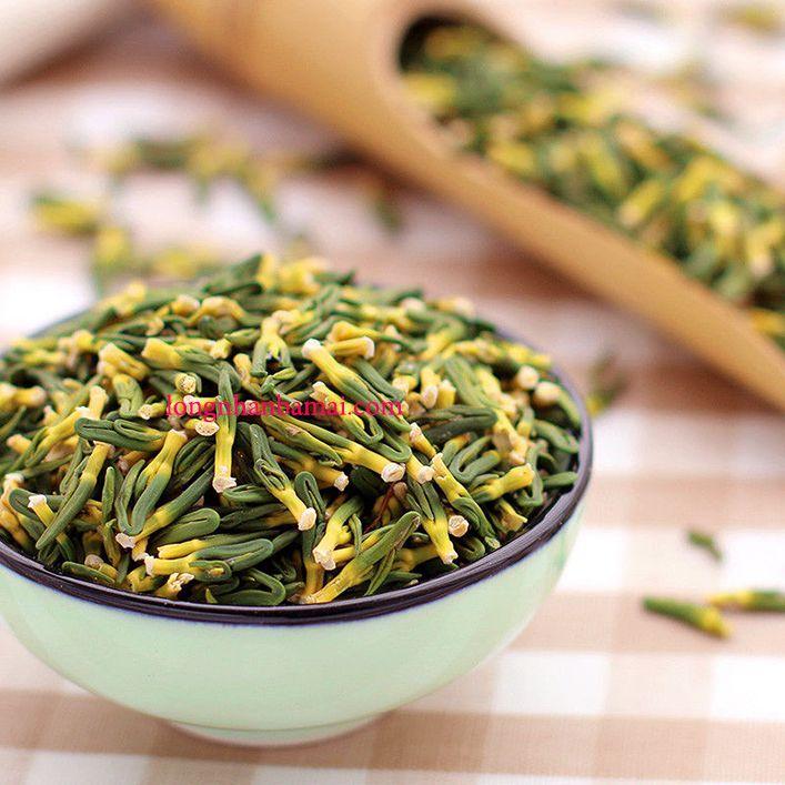 Hình ảnh tâm sen khô dùng để pha trà