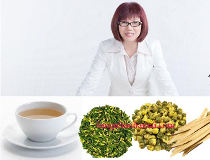Nguyên liệu pha trà tâm sen với bông cúc và cam thảo