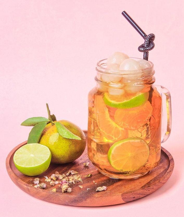Cách pha trà nhãn tại nhà